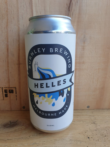 Burnley Brewing Helles Munich Style Lager 440ml Can