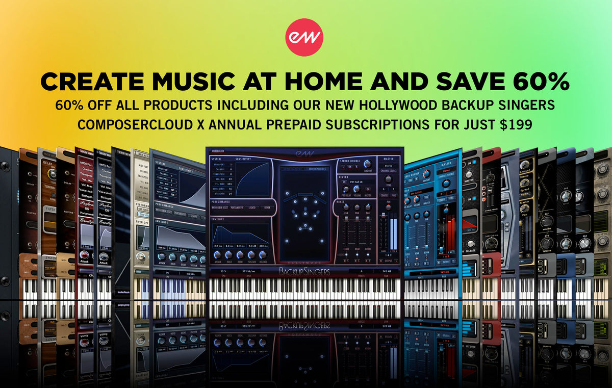 EastWest Create at Home Sale