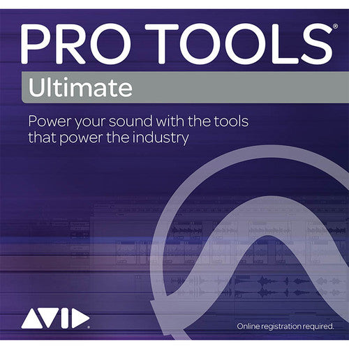 Avid Pro Tools Ultimate Perpetual License w/ 1 yr updates (no iLok)
