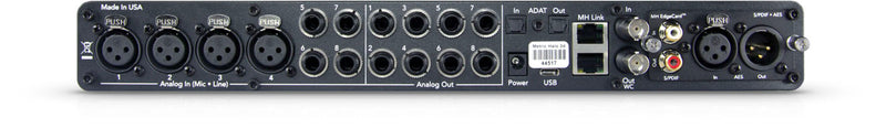 Metric Halo 2882 3d portable recording interface