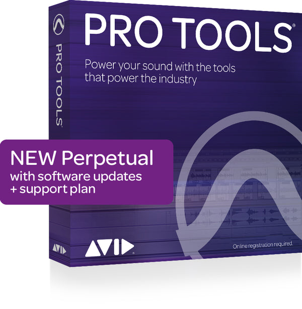 Avid Pro Tools Perpetual w/ 1 yr update/support (no iLok)