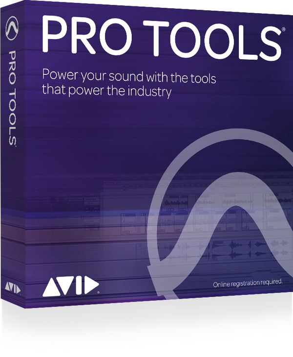 Avid Pro Tools 1yr Subscription (no iLok)