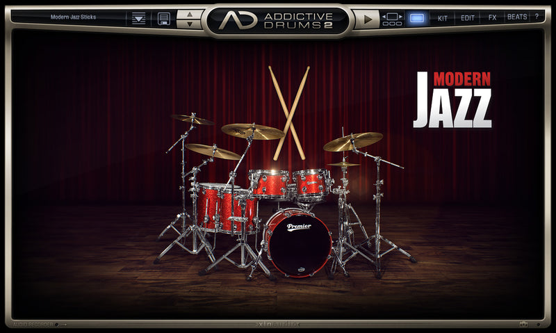 XLN Audio Mod Jazz Sticks ADPACK2
