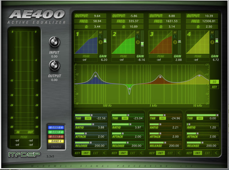 McDSP AE400 Active EQ Native v6