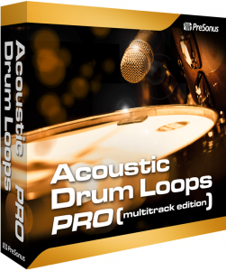 Presonus Acoustic Drum Loops