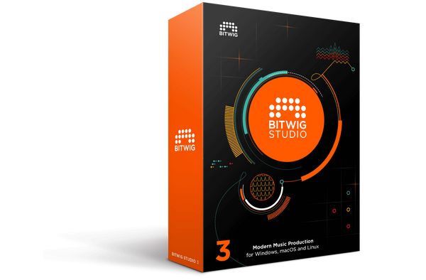 Bitwig Studio 3 Upgrade 16-Track