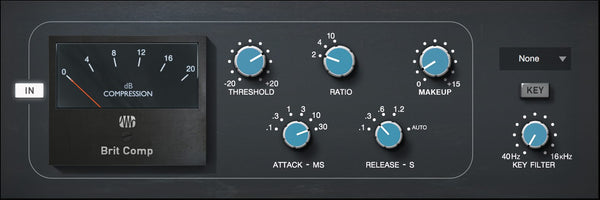 PreSonus Brit Comp - Fat Channel Plug-in