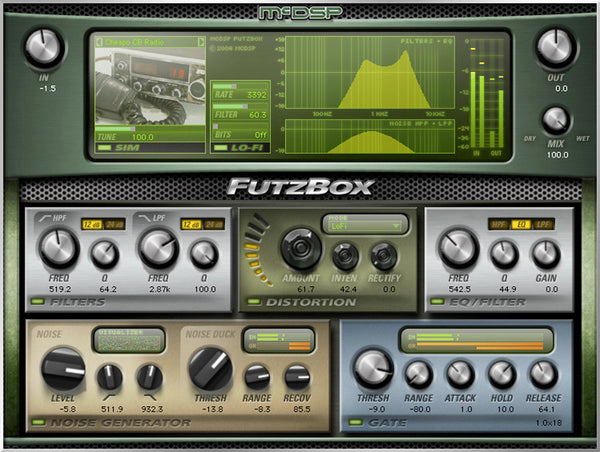McDSP FutzBox HD v6