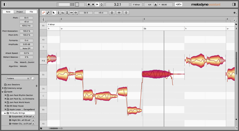 Melodyne 5 Assistant upgrade from Assistant