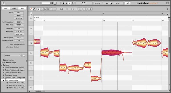 Melodyne 5 Assistant upgrade from Essential