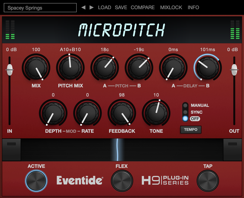 Eventide MicroPitch - Instant Delivery