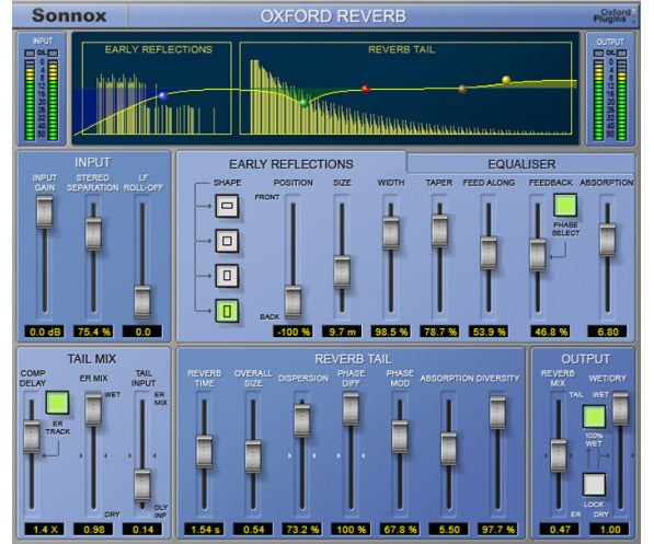 Sonnox Oxford Reverb HD-HDX