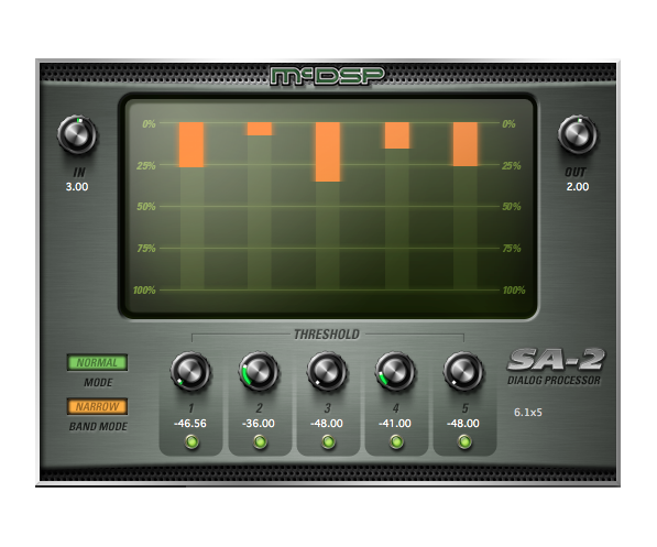 McDSP SA2 Dialog Processor Native v6