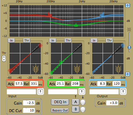 Wholegrain Digital Systems Trio DynPEQ v1.4