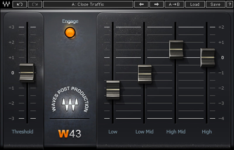 Waves W43 Noise Reduction Plugin