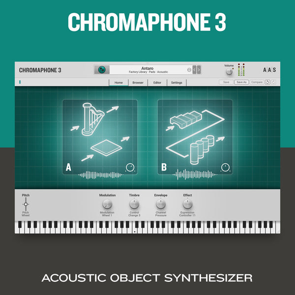 Applied Acoustics Systems Chromaphone 3 Upgrade from Chromaphone 2 (requires Chromaphone 2)