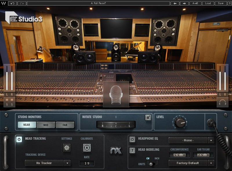 Waves Abbey Road Studio 3 + Nx Head Tracker