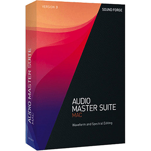 MAGIX Audio Master Suite Mac 3