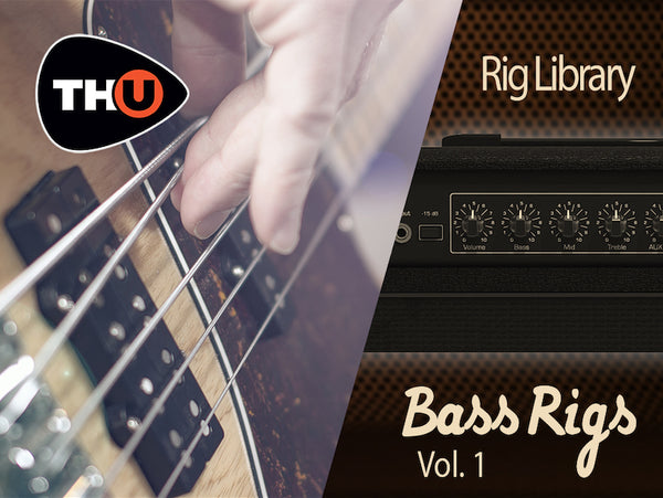 Overloud Bass Rigs Vol. 1 - Rig Library for TH-U