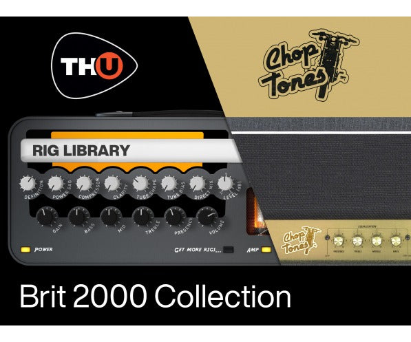 Overloud Choptones Brit 2000 Collection - TH-U Rig Library