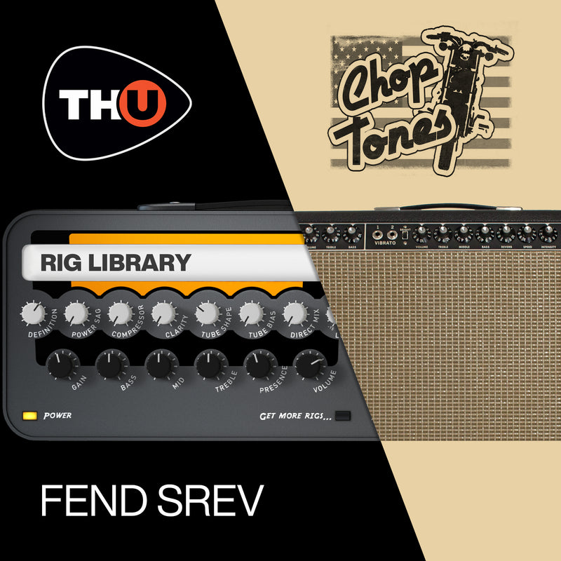 Overloud Fend SRev - Rig Library for TH-U