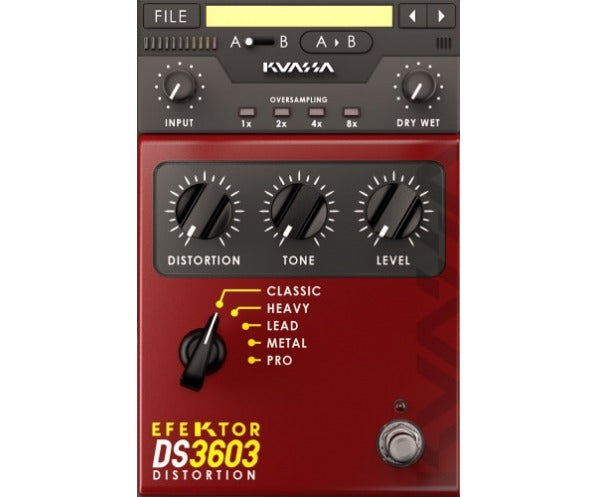 Kuassa Efektor DS3603 Distortion