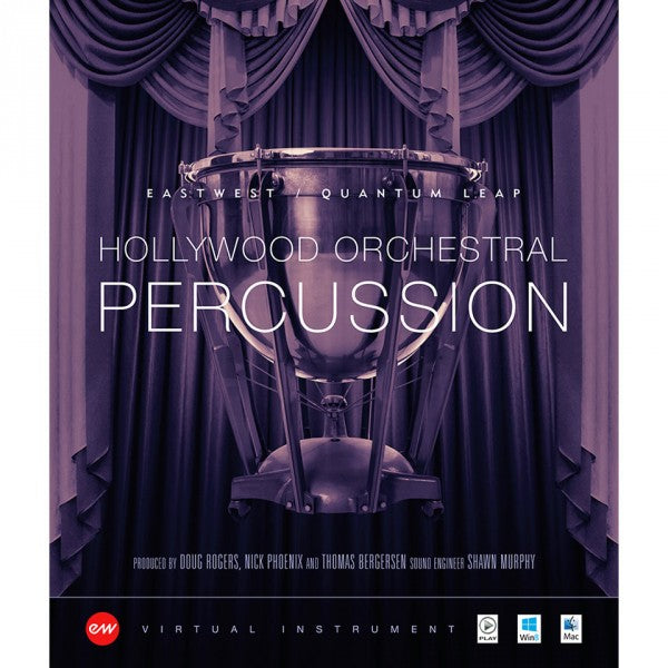 EastWest Hollywood Orchestral Persussion Diamond - Instant Delivery