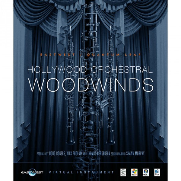 EastWest Hollywood Orchestral Woodwinds Diamond - Instant Delivery