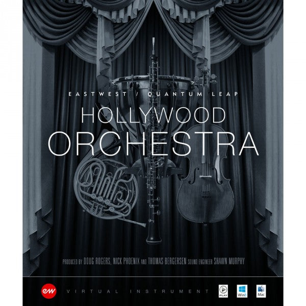 EastWest Hollywood Orchestra Diamond + Solo Instruments Bundle - Instant Delivery