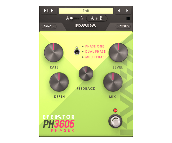 Kuassa Efektor PH3605 Phaser