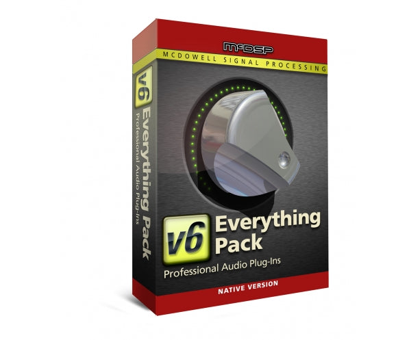 McDSP Everything Pack Native v6.4