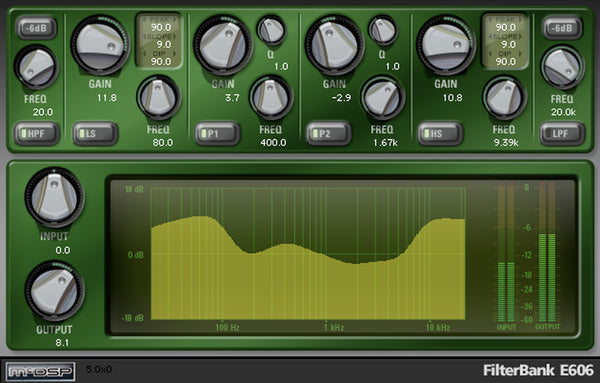 McDSP FilterBank Native v6
