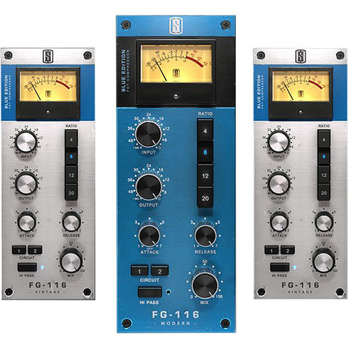 Slate Digital FG-116 Blue Series Fet Compressor