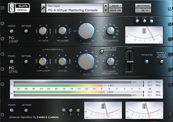 Slate Digital FG-X Mastering Processor