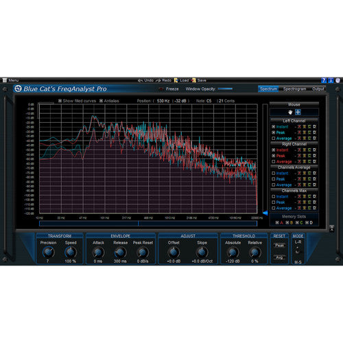 Blue Cat Audio Blue Cat FreqAnalyst Pro