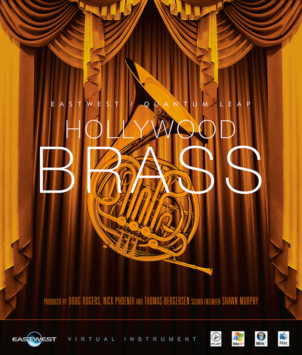 EastWest HOLLYWOOD BRASS GOLD
