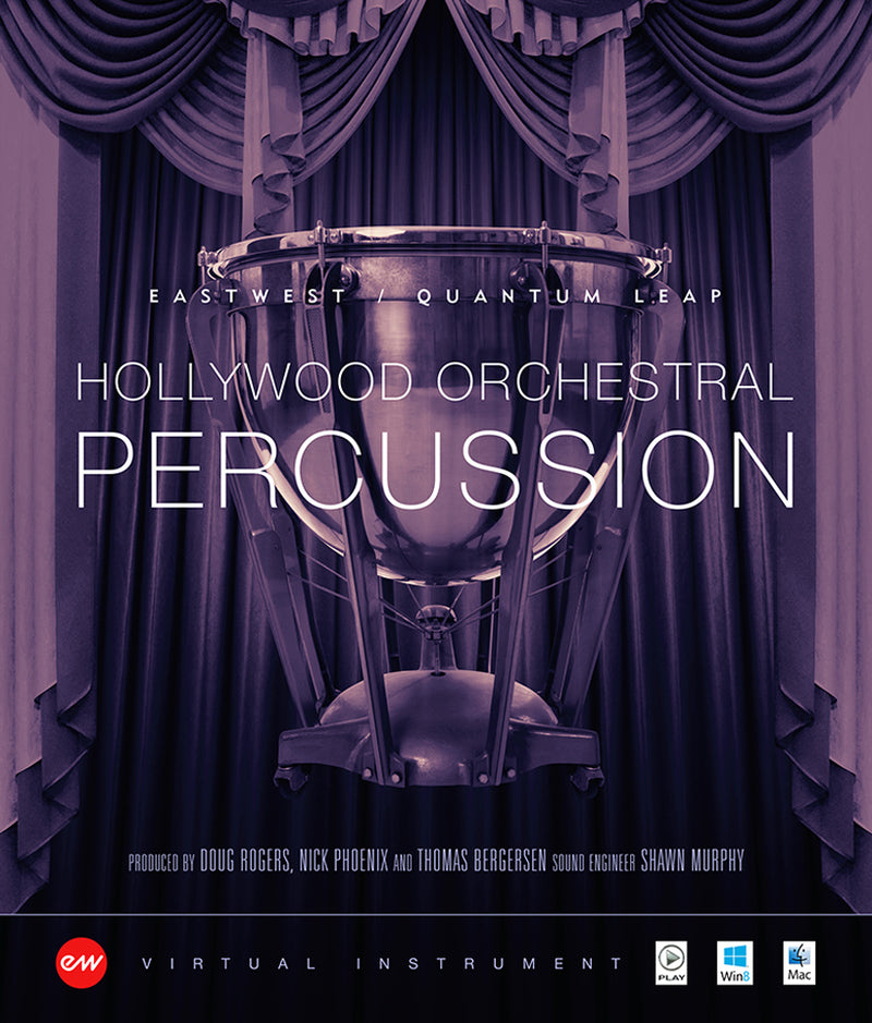 EastWest HOLLYWOOD PERCUSSION GOLD