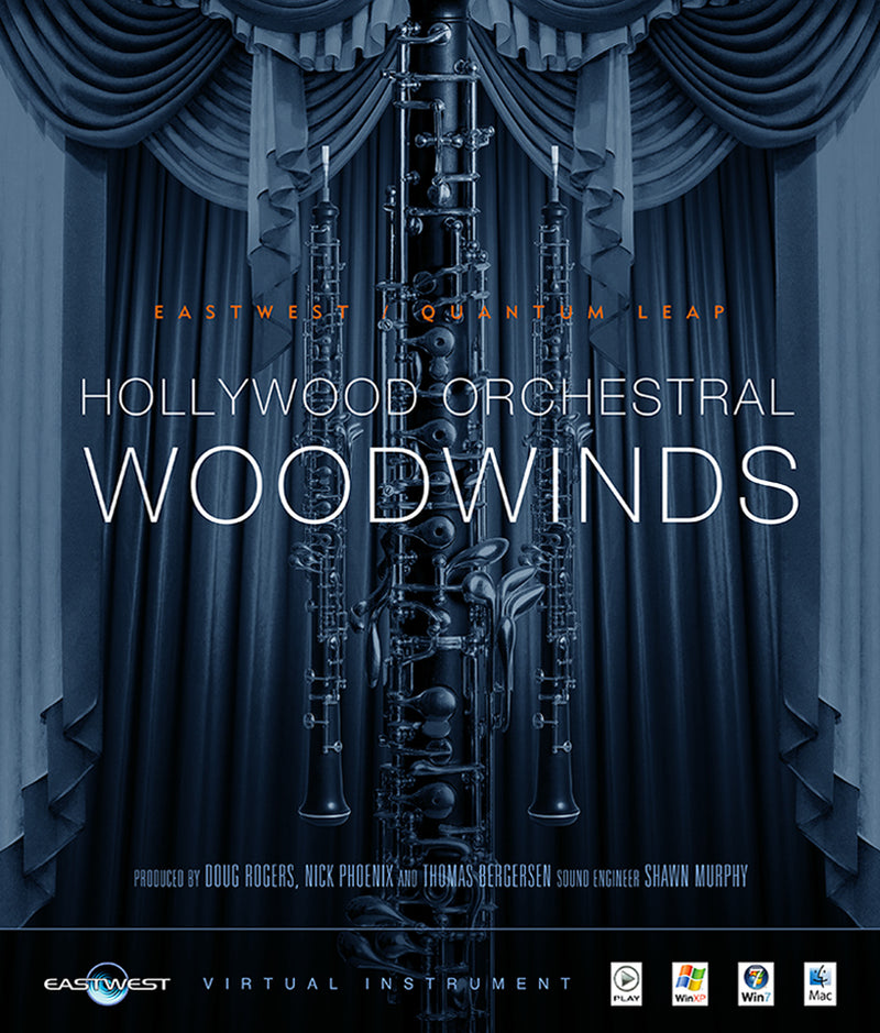 EastWest HOLLYWOOD ORCHESTRAL WOODWINDS SILVER