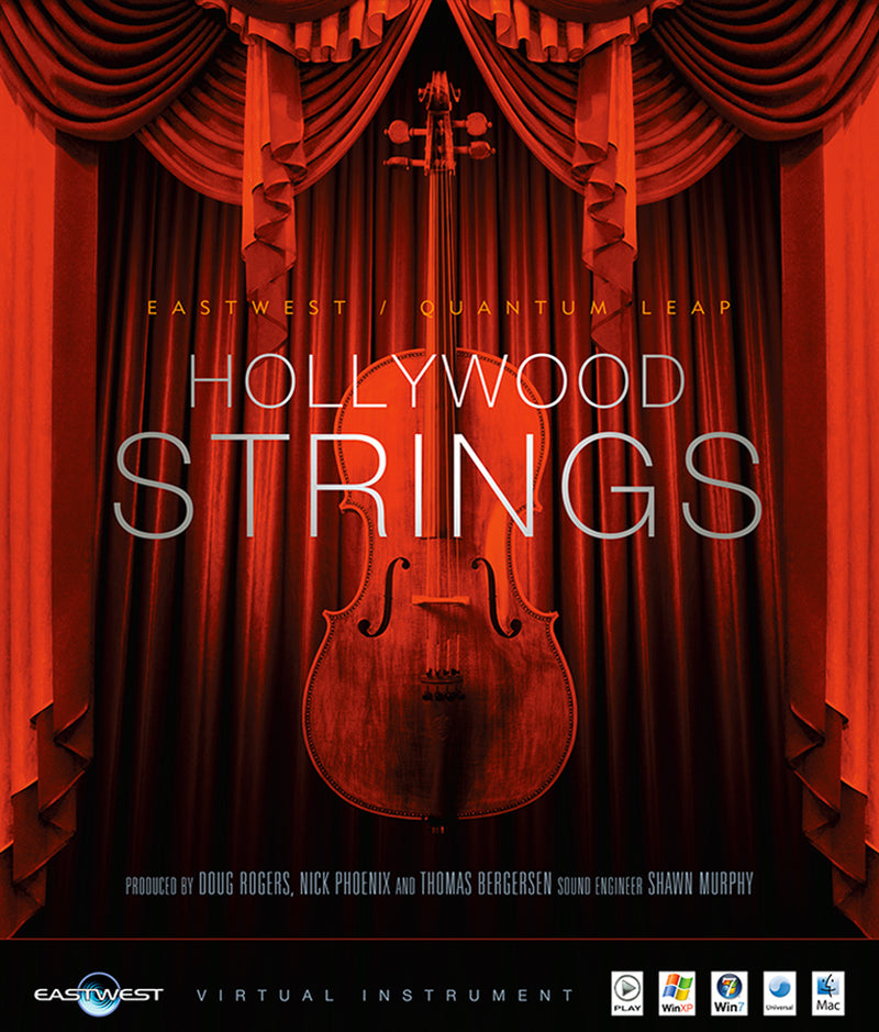 EastWest HOLLYWOOD STRINGS SILVER