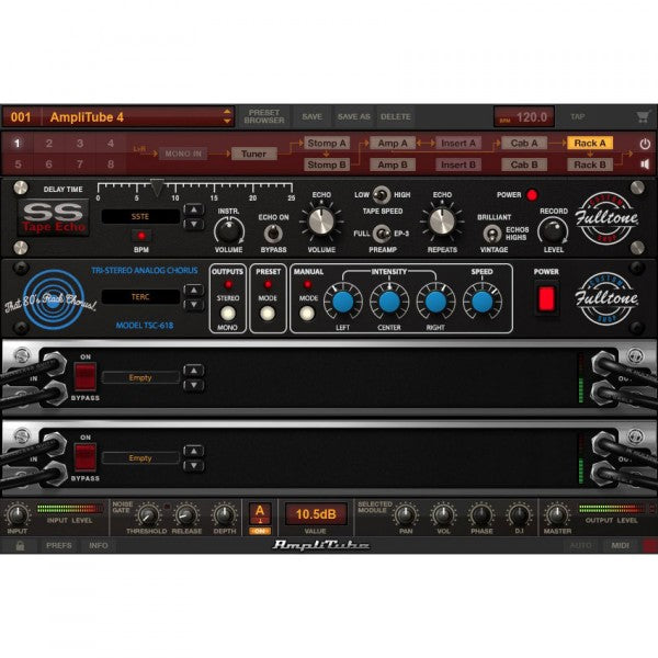 IK Multimedia AmpliTube Fulltone