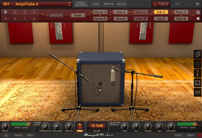 IK Multimedia AmpliTube SVX