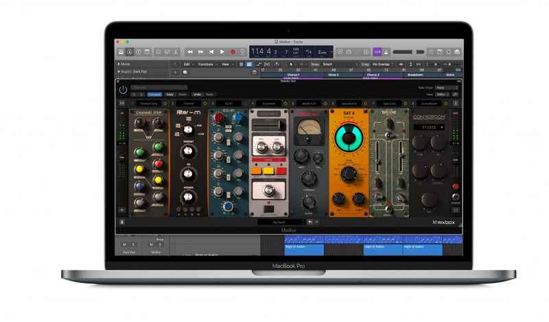 IK Multimedia T-RackS MIXBOX MacBook Pro