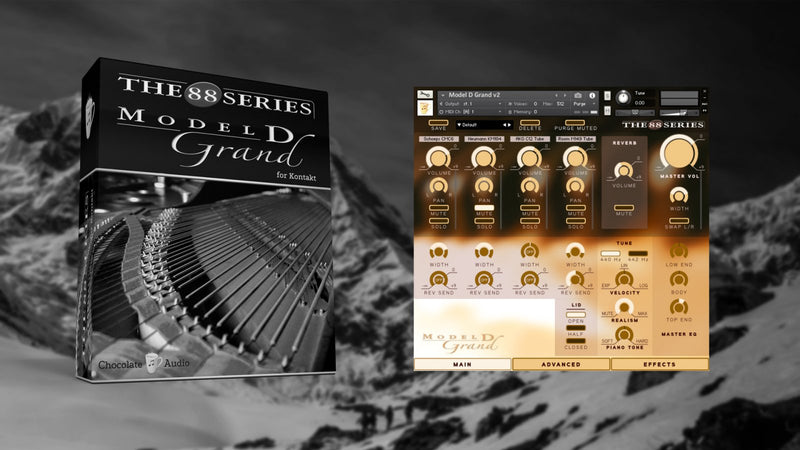 Chocolate Audio Model D Grand Piano For Kontakt
