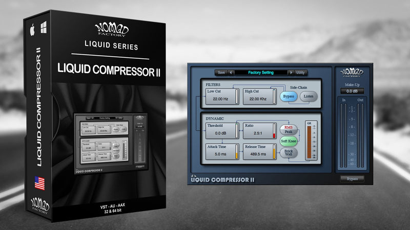 Nomad Factory Liquid Compressor II