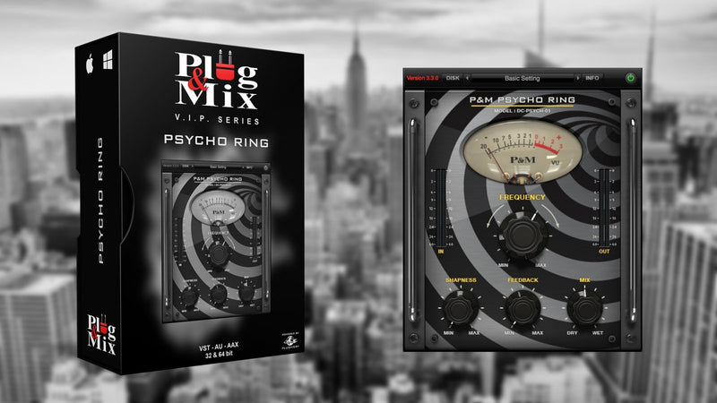 Plug And Mix Psycho Ring