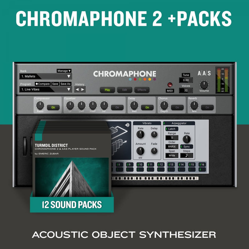 Applied Acoustics Systems Chromaphone 2 & Packs