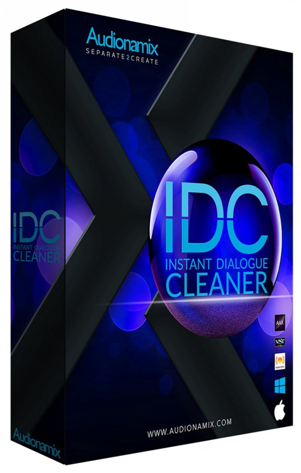 Audionamix IDC - Instant Dialogue Cleaner