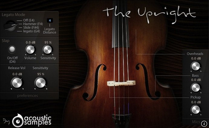 Acousticsamples The Upright