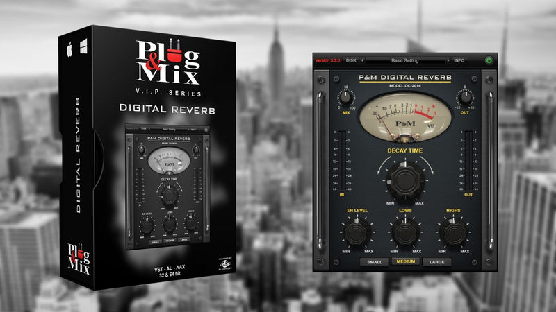 Plug And Mix Digital Reverb