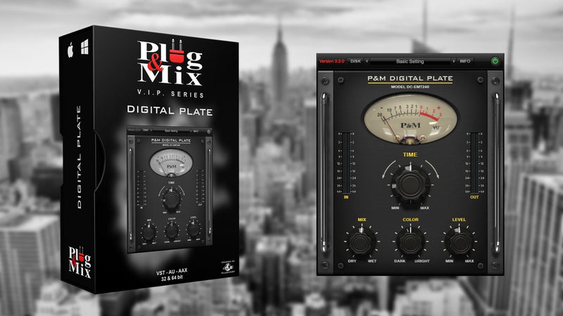 Plug And Mix Digital Plate